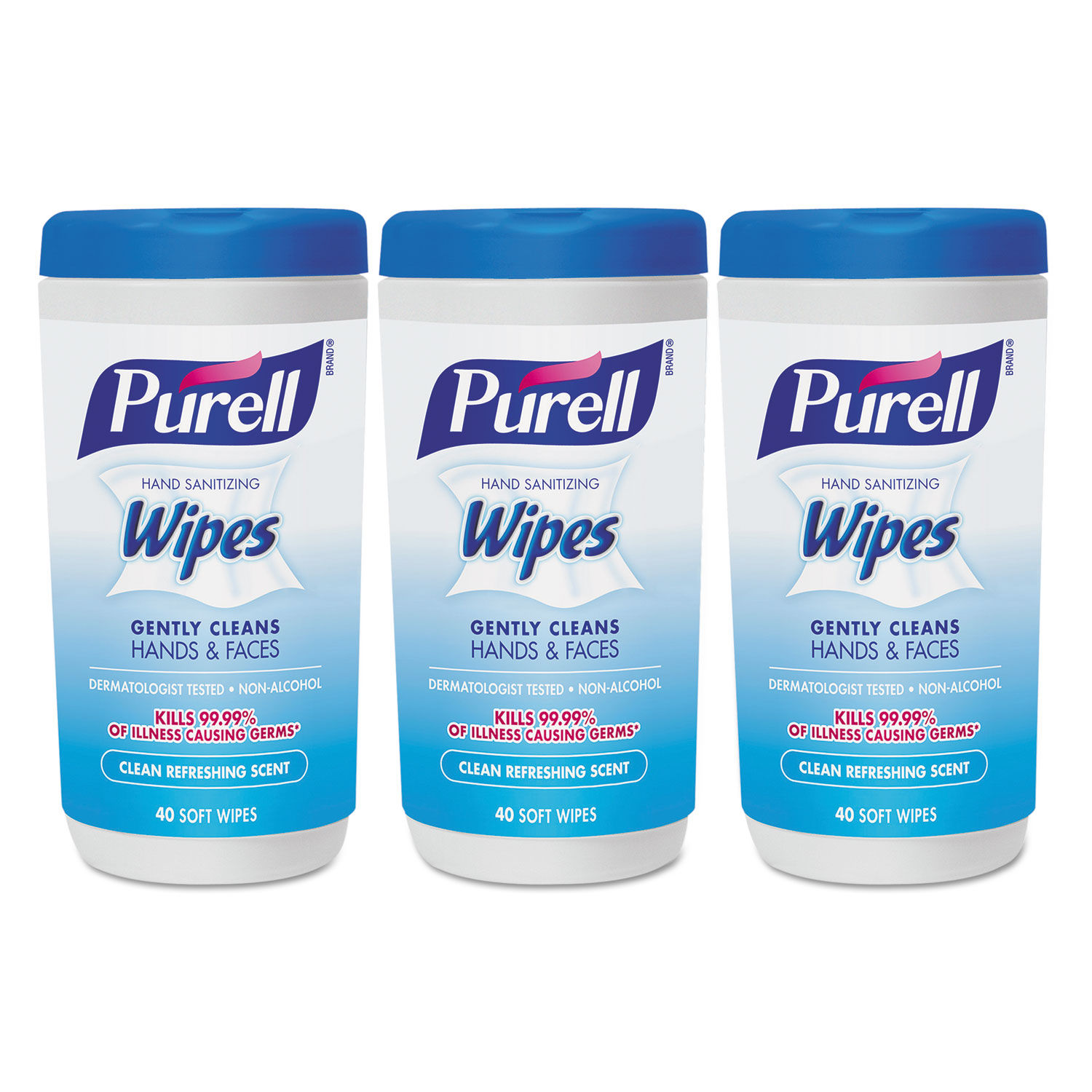 purell hand sanitizing wipes clean refreshing scent 40 wipes
